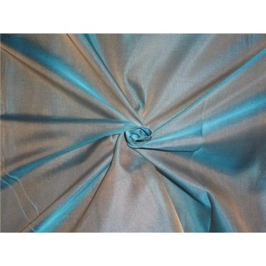 """SILK ORGANZA IRIDESCENT SEA GREEN X BEIGE 118"""" INCHES WIDE by the yard"""