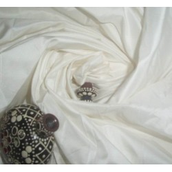"IVORY SILK TAFFETA  taf #2 54"" wide sold by the yard"