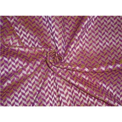 "spun brocade 44""pink x purple & metallic gold"