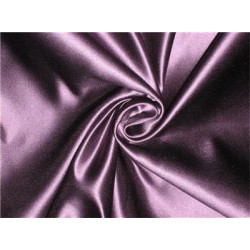45 MOMME SILK DUTCHESS SATIN FABRIC Aubergine color 54""