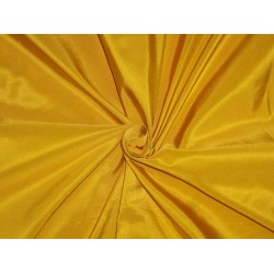 "40 MM HEAVY WEIGHT YELLOW SILK TAFFETA FABRIC 54"" WIDE*"