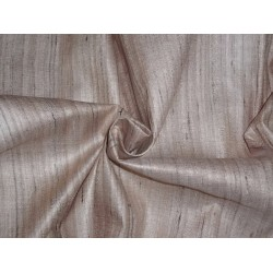 TUSSAR SILK FABRIC WITH WILD NOIL SILK STRIPES
