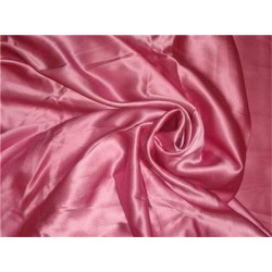 "100% PURE SILK SATIN FABRIC 60""wide- dusty rose COLOR"