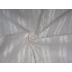 White cotton organdy fabric dobby design no.62