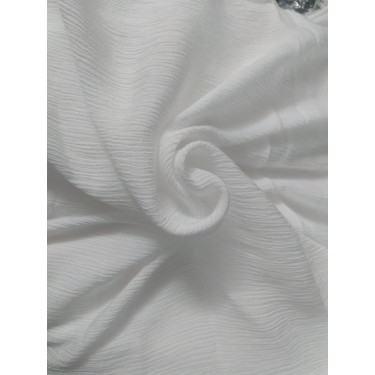 """crushed viscose rayon high twist bleached fabric 40"""" wide"""