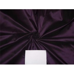 100% PURE SILK TAFFETA FABRIC AUBERGINE X BLACK 40momme TAF#194[1] by the yard