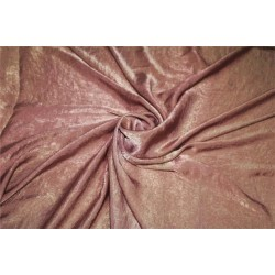 polyester sand wash satin fabric coco color 58'' FF#14[4]