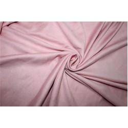 "Scuba Suede Knit fabric 59"" wide- fashion wear BLUSH PINK color B2#77[29]"