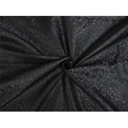 "Brocade Fabric JET BLACK Color 44"" WIDE BRO652[3]"