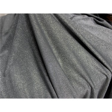 Silver shimmer lycra fabric grey x silver color 58''WIDE FF13[2]
