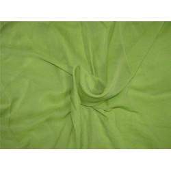 Rich green color crinkle chiffon fabric 44''wide PKT#7