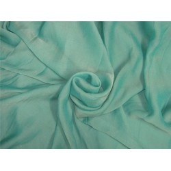 Ocean green color crinkle chiffon fabric 44'' wide PKT#7