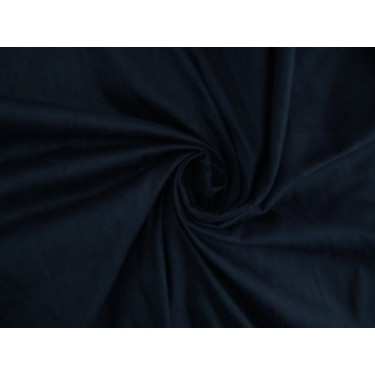 "100% pure silk dupioni fabric dark navy  54""  MM7[7A]"