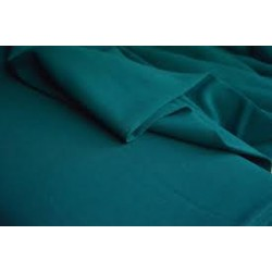 "Scuba Crepe Stretch Jersey Knit Dress fabric 58"" bottle green B2 #74[25]"