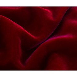 "micro velvet blood red color 44"" wide"