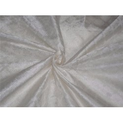 "silk brocade white 44"" BRO549[3]"