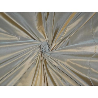 "HEAVY WEIGHT GOLD X MINT SILK TAFFETA FABRIC * TAF259[3] 60"" wide sold by the yard"