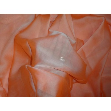 "12 mm Silk georgette 44"" wide~ PEACH"