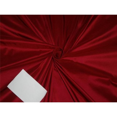 "100% PURE SILK TAFFETA FABRIC REDISH PINK COLOR 54""  40MM TAF#284"