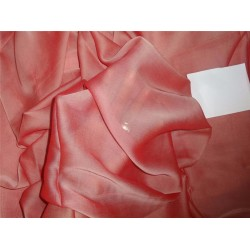 "12 mm Silk georgette 44"" wide~ SALMON"