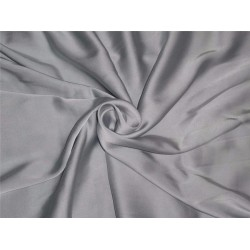 silk  lycra Duchess satin icy blue 66 momme 54""