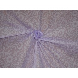 "Cotton organdy floral printed fabric lilac 44""stiff cotorg-newprint5"