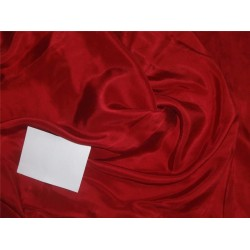 14MM BLOOD RED COLOR PLAIN HABOTAI SILK FABRIC