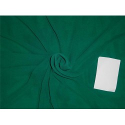 "Silk georgette with lycra/spandex 44"" wide~ dark green*"