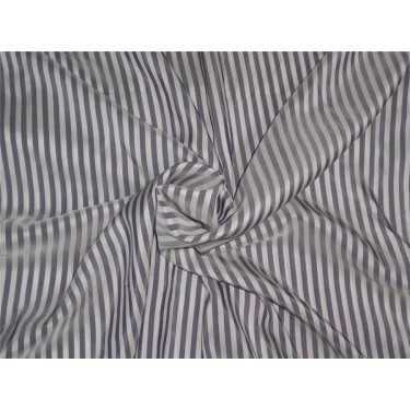 Pure silk haboati stripes purple x ivory color 80 gms b2#106[2]