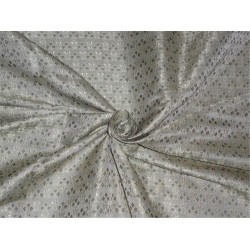 Brocade fabric Dusty Olive Green Color 44""