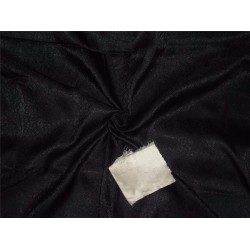 "BROCADE JET BLACK COLOR 44""INCH"