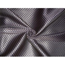 "BROCADE BLACK NAVY COLOR 44""INCH"