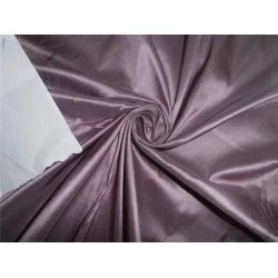 "100%PURE SILK DUPIONI FABRIC DUSTY LAVENDER COLOR 44"" DUP186[3]"