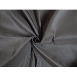 "40 MM HEAVY WEIGHT TAUPE BROWN SILK TAFFETA FABRIC 54"" WIDE*"