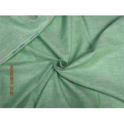 90 mm heavy linen suiting fabric green color 58''wide
