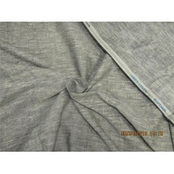 90 mm heavy  linen suiting  fabric grey color 58''wide