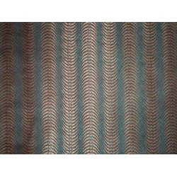 SPUN VISCOSE BROCADE FABRIC -BOOMERANG WEAVE