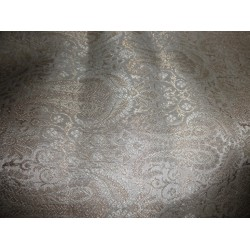 gorgeous Brocade Fabric cream,mettalic Gold BRO182[2]