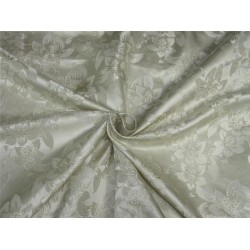 Silk brocade fabric dark ivory color 58'' bro591[3]