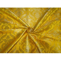 "Brocade fabric mango x metallic gold 44"" BRO594[2]"
