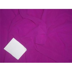 Silk Georgette fabric magenta 80gm 54''