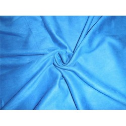 "Scuba Suede Knit fabric 59"" wide- fashion wear blue COLOR"