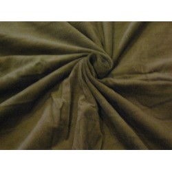 COTTON CORDUROY Fabric Forest Green color