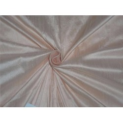 "100% PURE SILK DUPIONI FABRIC light rose 54"" mm81[2]"