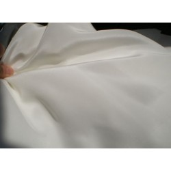"Pure Silk crepe fabric 36""[ivory colour] sold by the yard"