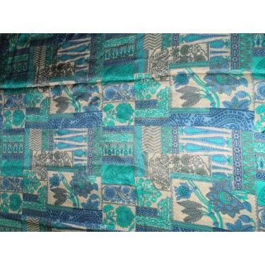 pure silk CDC crepe printed fabric 21 mm weight b2#101/2