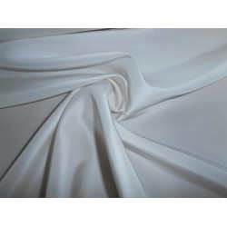 "32 mm Pure Silk china dupion fabric 44""[ivory colour]"