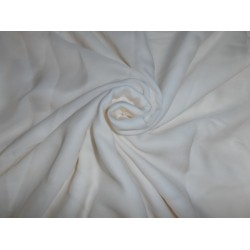"21 mm Silk Crepe Georgette 54"" wide~ ivory"