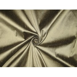 Pure SILK Dupioni FABRIC Smoky Silver color 54""