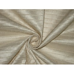 "Pure SILK Dupioni FABRIC Golden Ash color 54""*"